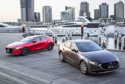 All New Mazda 3 Launched in Japan 2