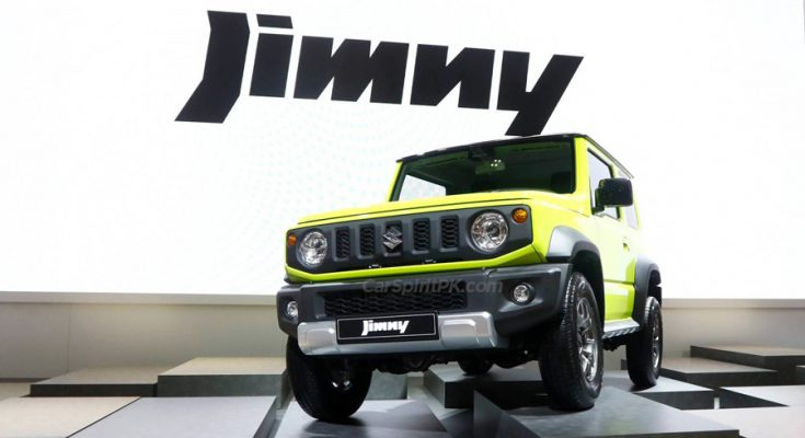 Pak Suzuki to Launch Jimny at PKR 38.9 Lac 1