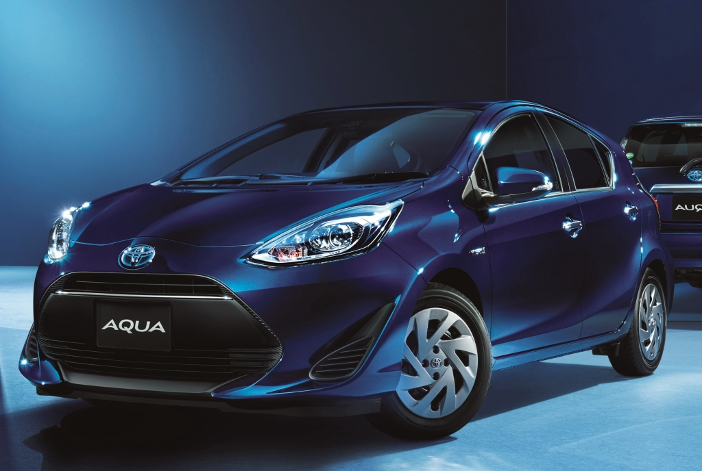 New Yaris Hybrid to Replace Toyota Aqua 6