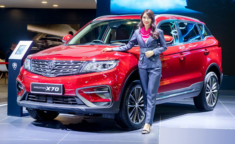Proton X70 to be Assembled in Malaysia by H2, 2019 1