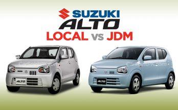 JDM Alto vs Pak Suzuki Alto 660cc 20