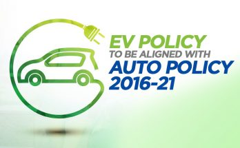 EV Policy to be Aligned with Current Auto Policy 2016-21 12