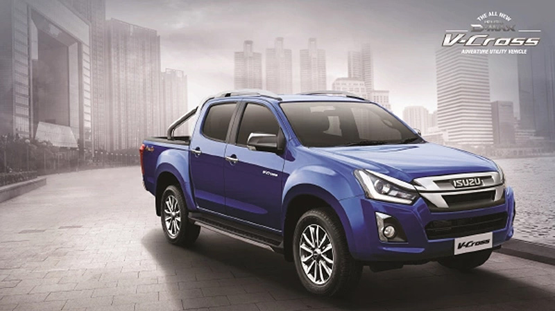 Isuzu D-Max V-Cross Facelift Launched in India at INR 15.5 Lac 2