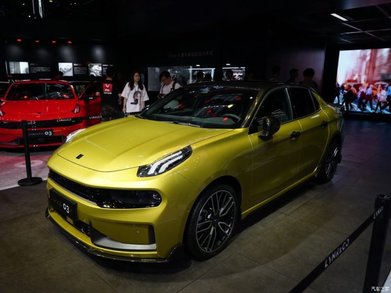Geely Unveiled Its Performance Oriented Lynk & Co 03+ 1