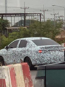Next Gen Honda City Spied Testing for the First Time 6