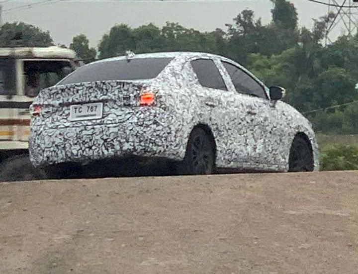 Next Gen Honda City Spied Testing for the First Time 7