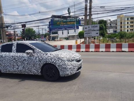Next Gen Honda City Spied Testing for the First Time 2
