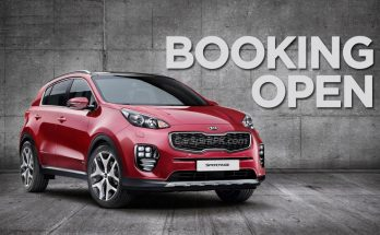 Kia Sportage: Booking Open 1