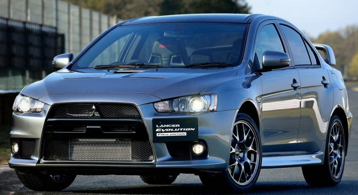 Mitsubishi Lancer Evo Reborn 1