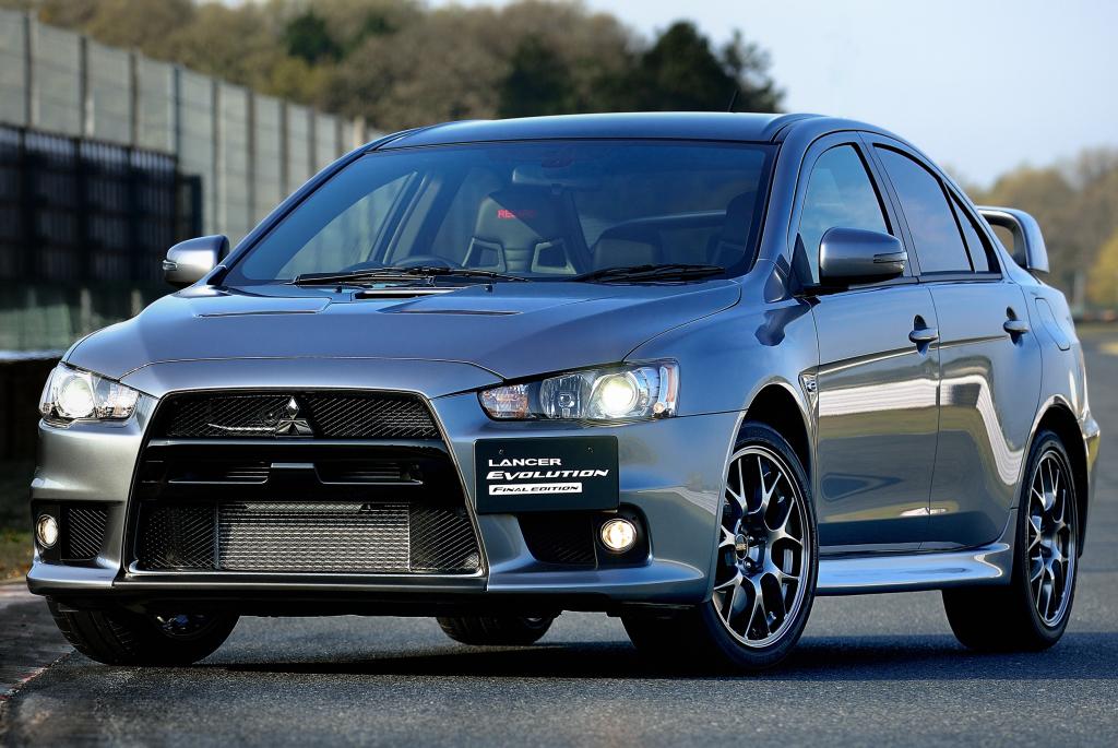 Mitsubishi Lancer Evo Reborn 4