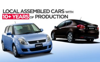 Cars with 10+ Years of Production in Pakistan 1