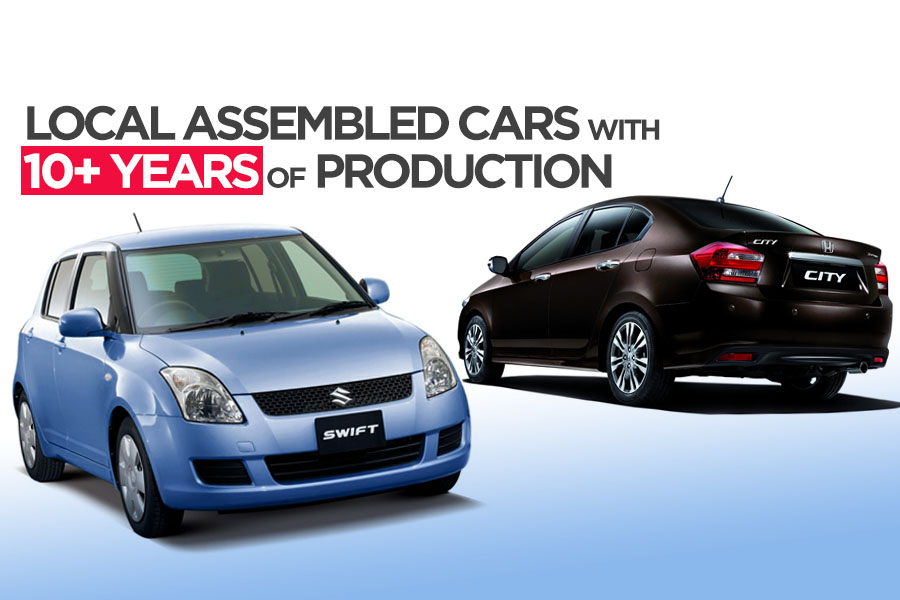 Cars with 10+ Years of Production in Pakistan 5
