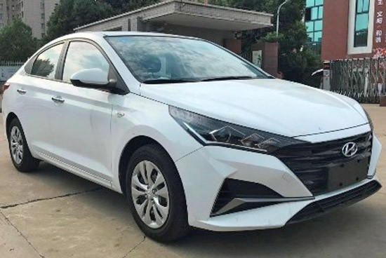 2020 Hyundai Verna Facelift Leaked Ahead of Launch 1