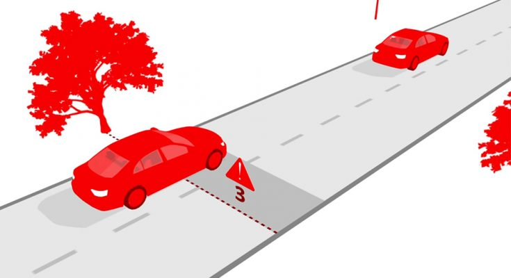 3-second Rule- The Safe Following Distance 2