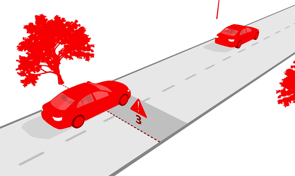 3-second Rule- The Safe Following Distance 1