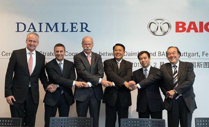 China's BAIC Group Acquires 5% Stake in Daimler AG 1