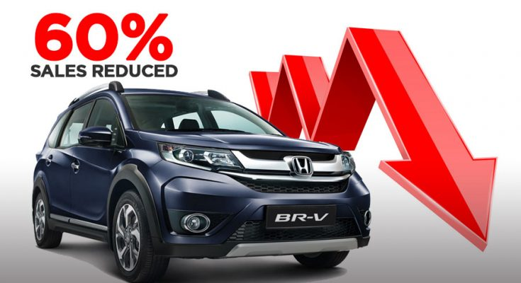 Honda BR-V Losing Big in Terms of Sales 1