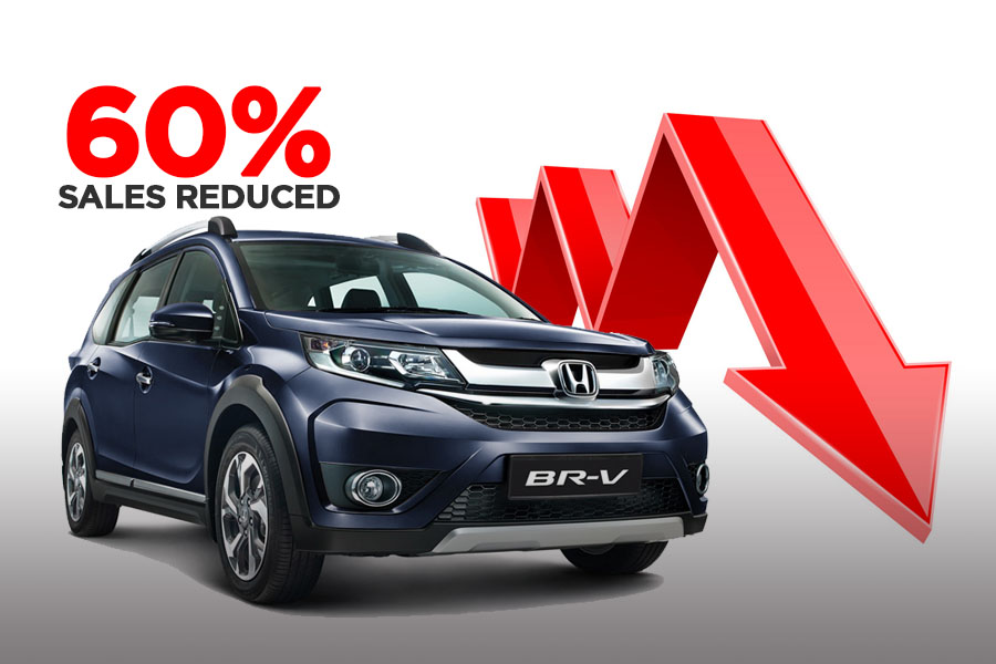 Honda BR-V Losing Big in Terms of Sales 4