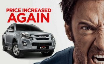 Another Increase in Isuzu D-MAX Prices 16