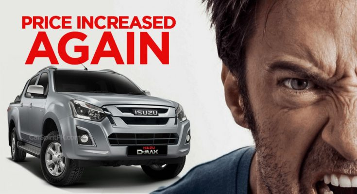 Ghandhara Increases Isuzu D-Max Price Again 2