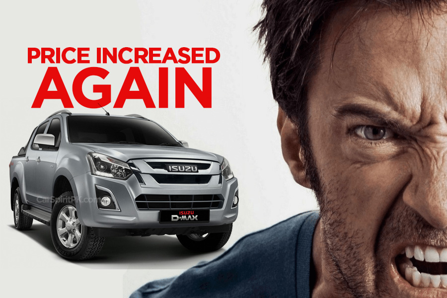 Ghandhara Increases Isuzu D-Max Price Again 6