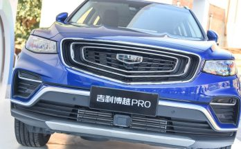 Geely Boyue Pro Debuts in China 24