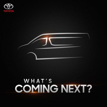 Is IMC Teasing All New Toyota HiAce? 4