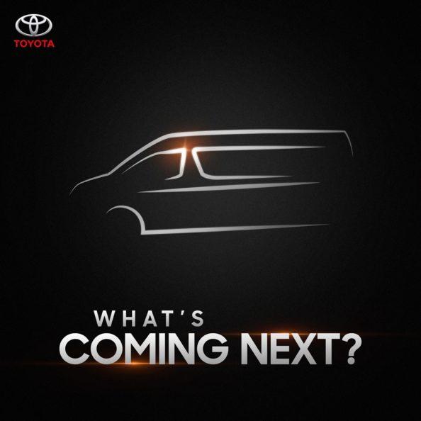 Is IMC Teasing All New Toyota HiAce? 1