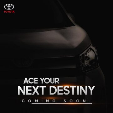 Is IMC Teasing All New Toyota HiAce? 5