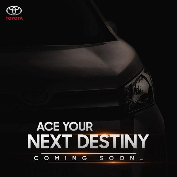 Is IMC Teasing All New Toyota HiAce? 2