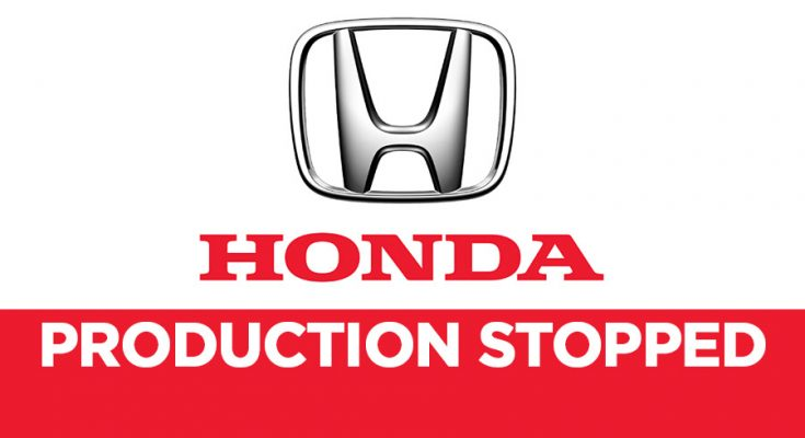 Honda Atlas Halts Car Production in Pakistan 1