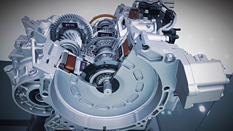 Hyundai Reveals New Hybrid Transmission 3