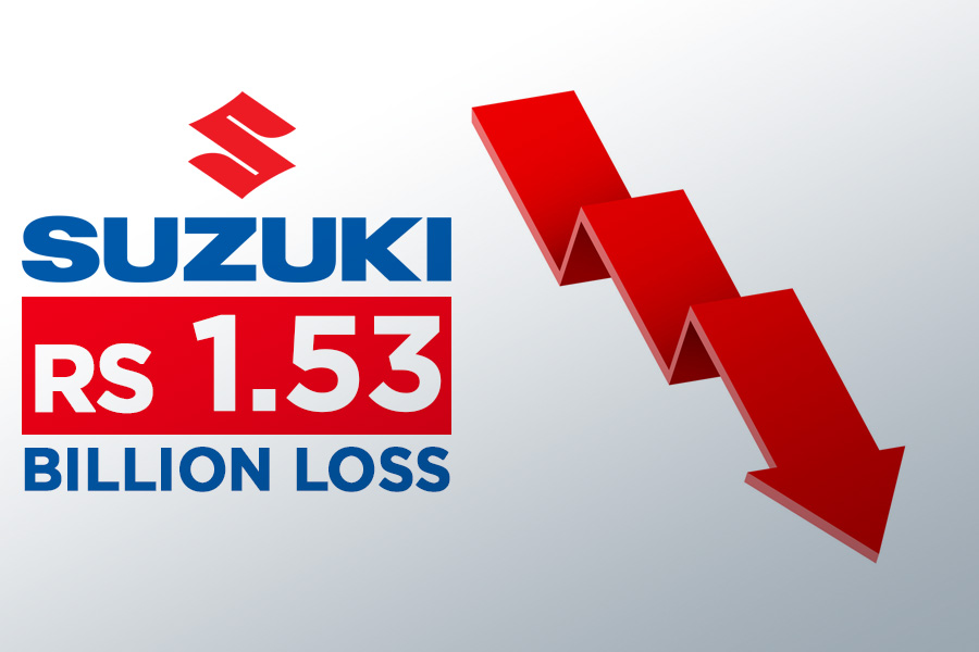 Pak Suzuki Posts Loss of Rs 1.53 Billion 8