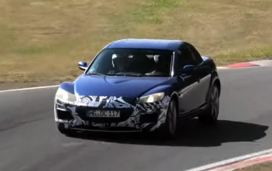 Mazda Testing the RX-8 at Nürburgring 8