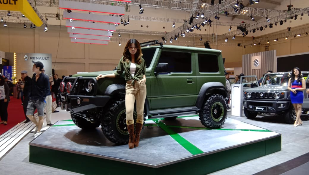 Suzuki Launched New Jimny in Indonesia at GIIAS 2019 5
