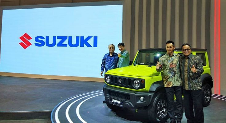 Suzuki Launched New Jimny in Indonesia at GIIAS 2019 1
