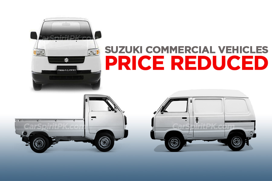 Pak Suzuki Commercial Vehicles Prices Reduced 4