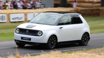 Honda E Appears at Goodwood Hill- More Details Available 12