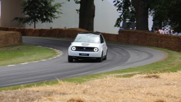 Honda E Appears at Goodwood Hill- More Details Available 7