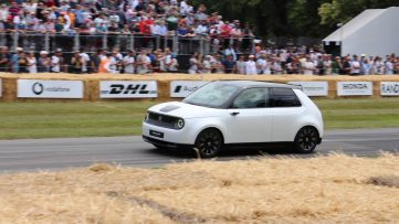 Honda E Appears at Goodwood Hill- More Details Available 11
