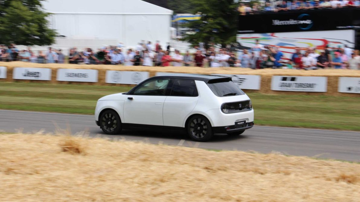 Honda E Appears at Goodwood Hill- More Details Available 9