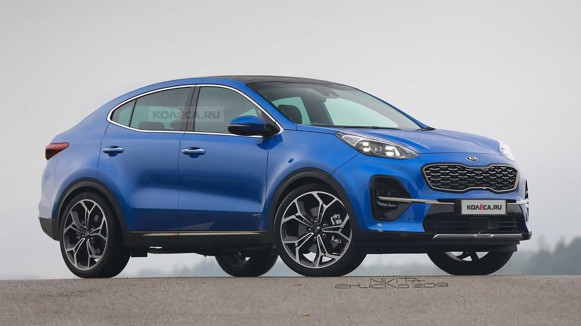 How Does Kia Sportage Look with this Coupe SUV Treatment? 5