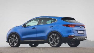 How Does Kia Sportage Look with this Coupe SUV Treatment? 3