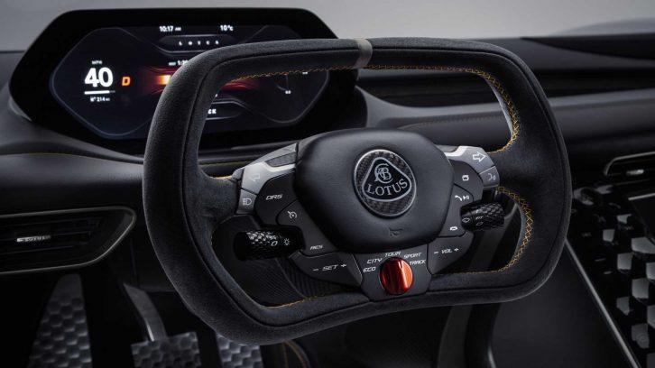 Lotus Unveils 2000 hp Evija EV Hypercar 16