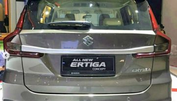 Suzuki Displays the Ertiga 6-seat Concept at GIIAS 2019 6