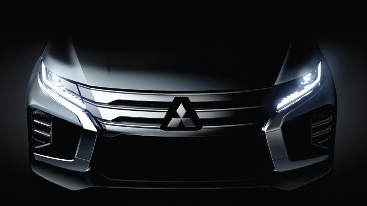 Mitsubishi Teases the New Pajero Sport 1