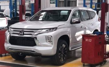 2019 Mitsubishi Pajero Sport Facelift Spotted Ahead of Launch 11