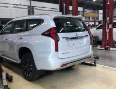 2019 Mitsubishi Pajero Sport Facelift Spotted Ahead of Launch 7