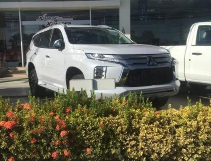 2019 Mitsubishi Pajero Sport Facelift Spotted Ahead of Launch 3