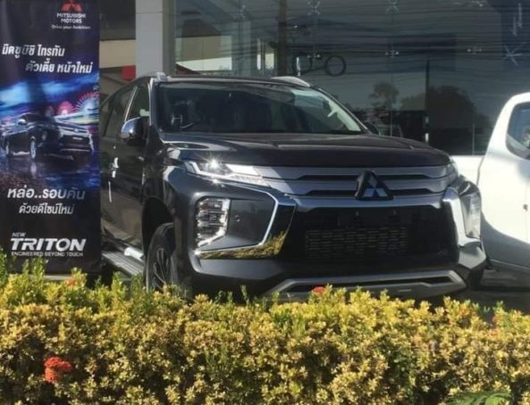 2019 Mitsubishi Pajero Sport Facelift Spotted Ahead of Launch 5